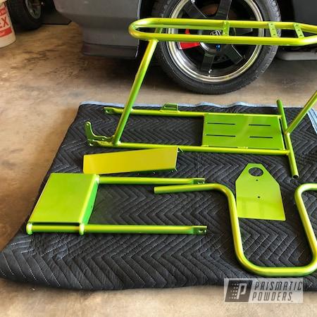 Powder Coating: Mini Bike,Illusion,BIGGS SILVER UPB-6018,GoPowerSports,Rascal,Illusion Shocker PMB-10050