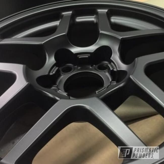 Powder Coating: Wheels,BLACK JACK USS-1522,blackjack,Corvette,Corvette Wheels