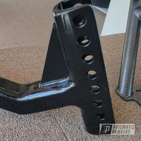 Powder Coating: Towing,Hitch Tube,GLOSS BLACK USS-2603,Trailer Hitch,Extension Tube,Automotive Parts