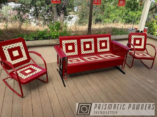 Powder Coating: Red Wheel PSS-2694,Patio Furniture,Outdoor Furniture,Custom Outdoor Furniture,Patio Set,Custom Outdoor Patio Furniture,Outdoor Patio Furniture,Furniture