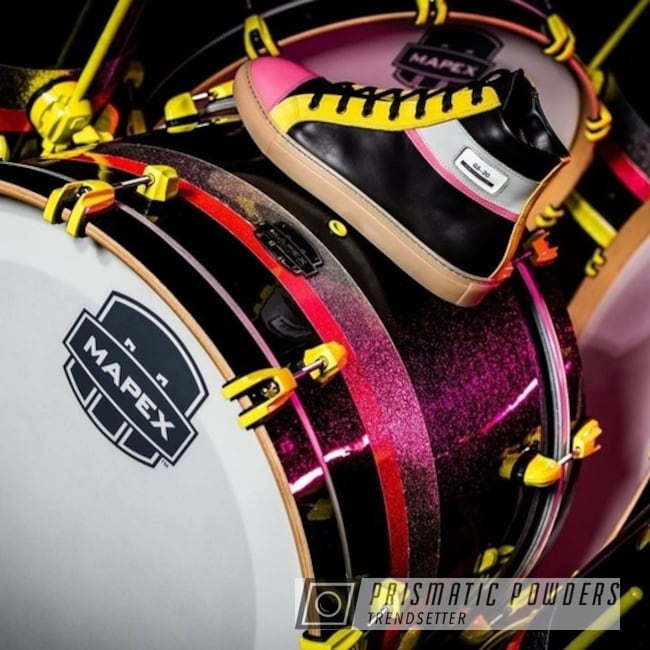 Powder Coated Custom Drum Set Parts In Pmb-4869