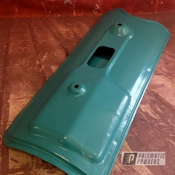 Powder Coated Auto Part In Ral 5018