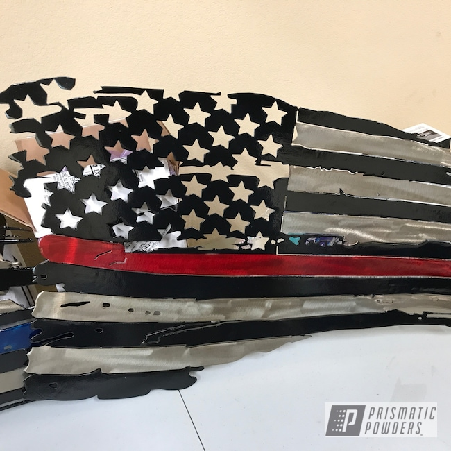 Powder Coating: Clear Vision PPS-2974,American Flag,LOLLYPOP RED UPS-1506,Ink Black PSS-0106,plasma,ANODIZED BLUE UPB-1394,Art