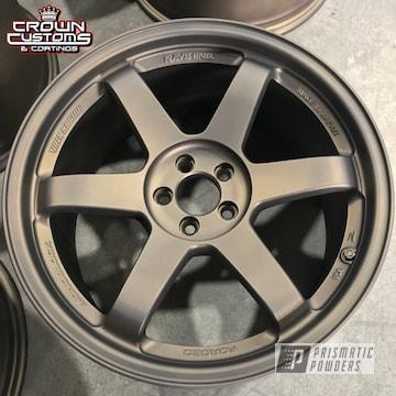 Casper Clear Over Bronze Chrome On Volk Te37 Racing Wheels