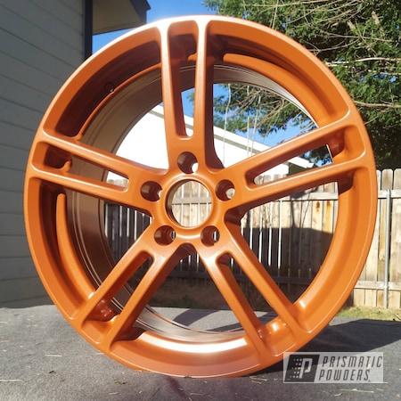 "Powder Coating: Wheels,Custom Wheels,Aluminum Wheel,Rims,Burnt Copper PMB-8013,18"" Aluminum Rims,Kia,KIA Stinger"