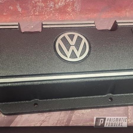 Powder Coating: Auto Parts,Splatter Black PWS-4344,Automotive,Volkswagen,Splatter Black,Automotive Parts