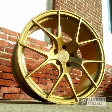 Custom Rim Featuring Goldtastic And Soft Clear
