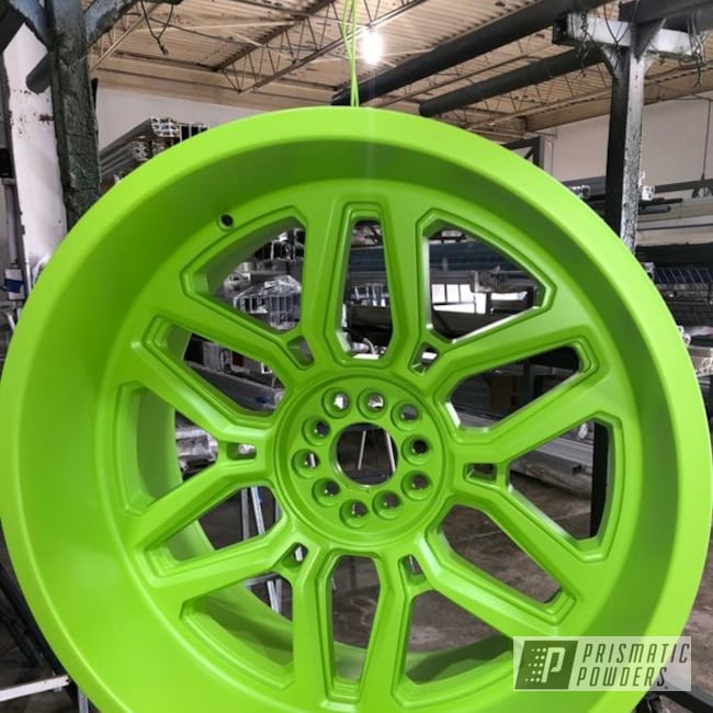 Powder Coated Wheel In Psb-7001
