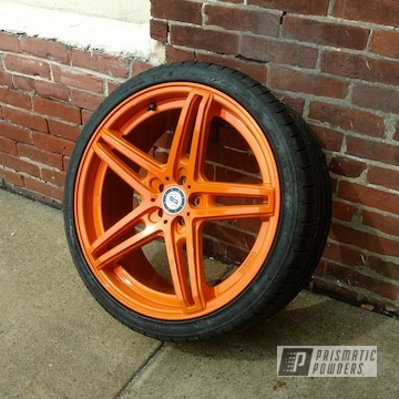 Custom Wheel Featuring Striker Gold Deluxe And Super Chrome