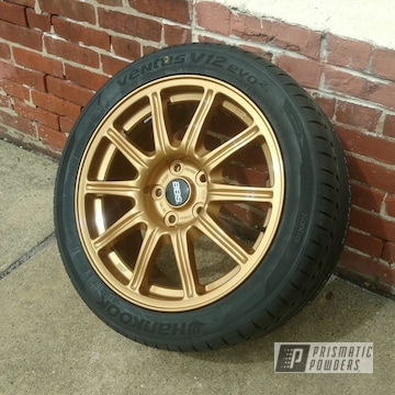 Tomic Gold Ii And Clear Vision On This Custom Wheel