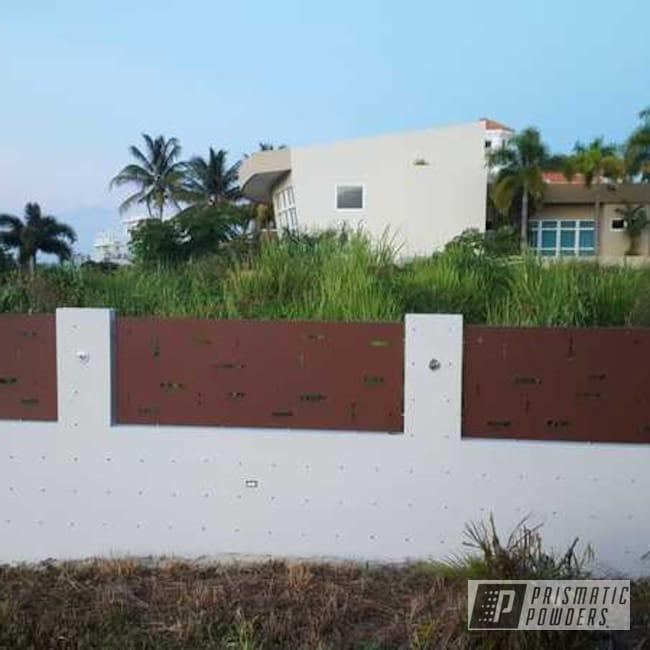 Powder Coated Fence In Utb-5223