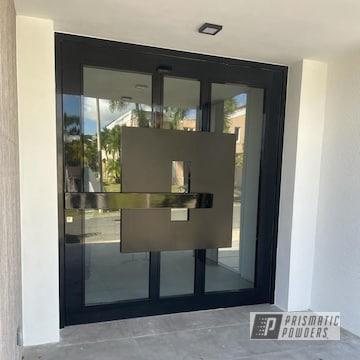 Powder Coated Doors In Pss-0106