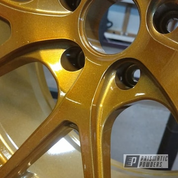 Transparent Gold And Heavy Silver Over A Custom Rim