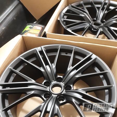 "Powder Coating: Wheels,20"" Wheels,Rims,Flatter Black ESS-4441,ZL1,Chevy,Camaro"