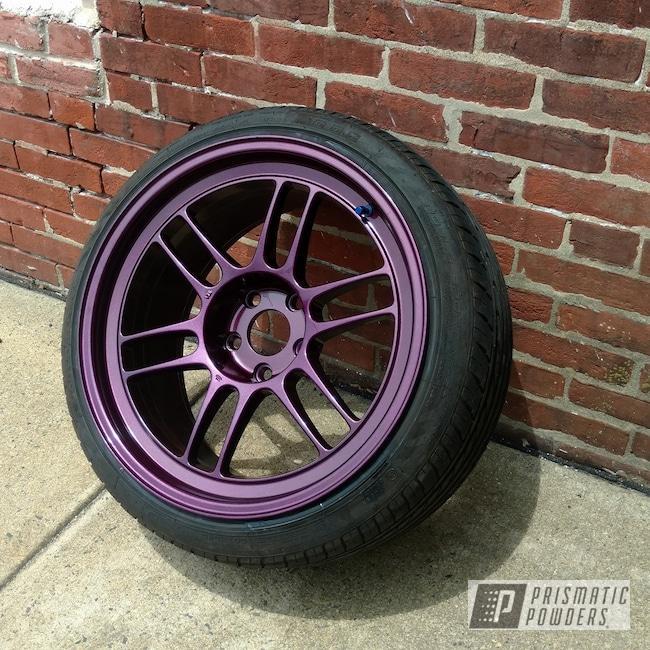 Powder Coating: Wheels,Automotive,Custom Wheels,Maroon Glitter PPB-6341,Illusion Malbec PMB-6906
