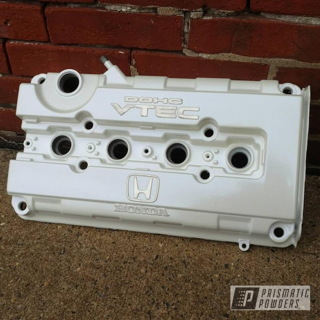 Powder Coating: Automotive,Two Stage Application,Chameleon Sapphire PPB-5729,Powder Coated Honda Valve Covers,Honda Engine Cover,EPC Honda Vtec Valve Cover,Pearl Sparkle PMB-4130,Valve Cover
