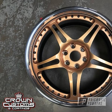Chrome 3 Piece Wheel With Illusion True Copper