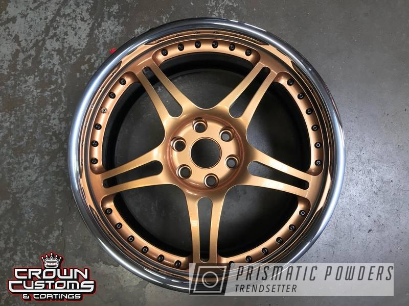 Powder Coating: Illusion True Copper PMB-10044,Wheels,3 Piece Wheels