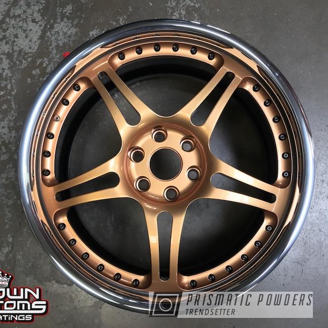 Powder Coating: Illusion True Copper PMB-10044,Wheels,3 Piece Wheels