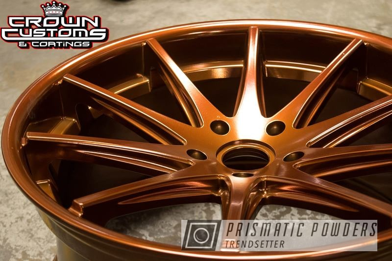 Powder Coating: Wheels,Transparent Copper PPS-5162