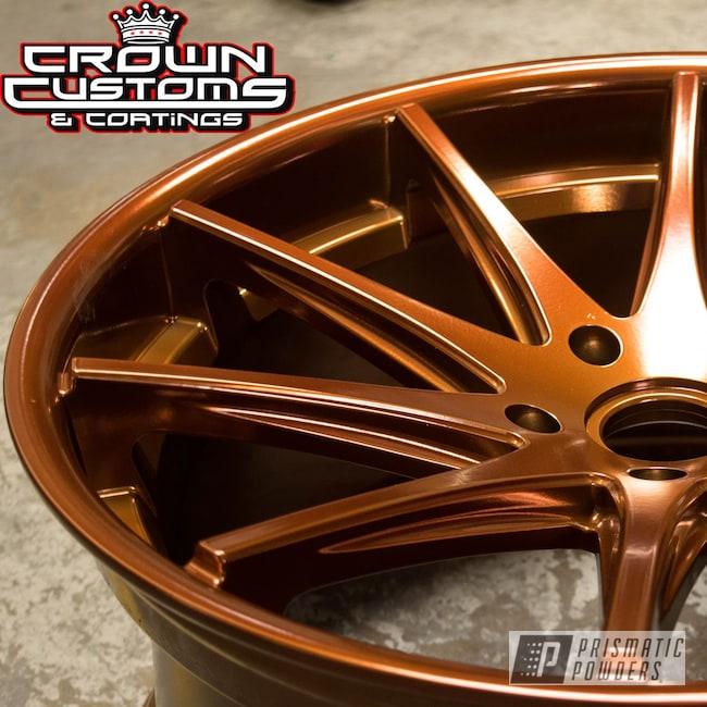 Powder Coating: Wheels,Transparent Copper PPS-5162