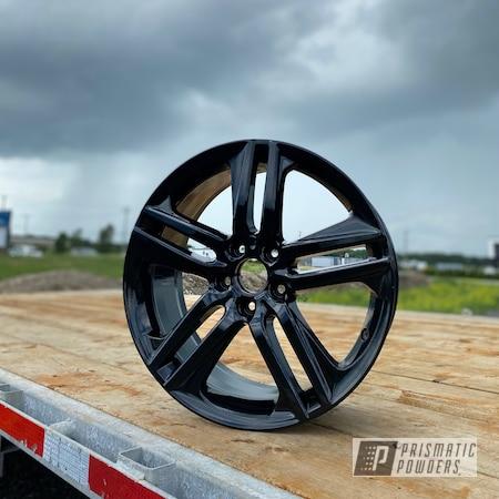 """Powder Coating: Wheels,Accord,Rims,GLOSS BLACK USS-2603,Honda,19"""" Aluminum Rims"""