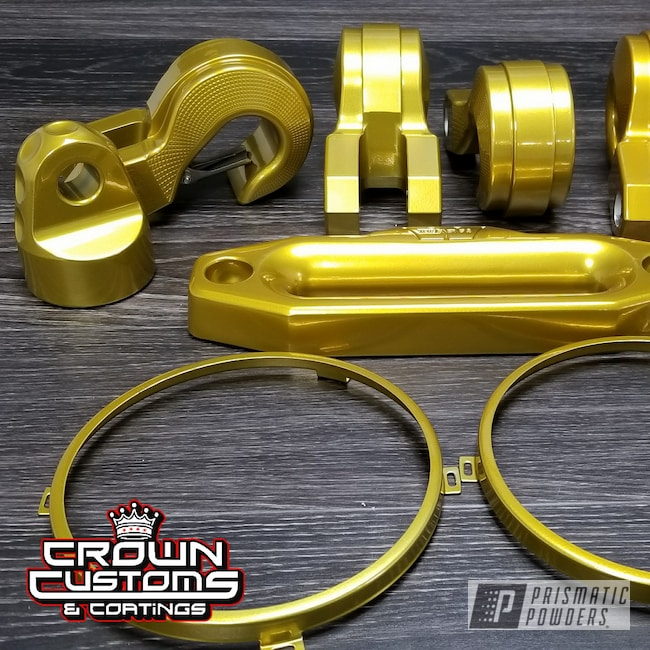 Powder Coating: Clear Vision PPS-2974,Illusion Gold-(Discontinued) PMB-10045,parts,Miscellaneous