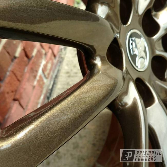 Powder Coating: Wheels,Automotive,Clear Vision PPS-2974,Bronze Chrome PMB-4124