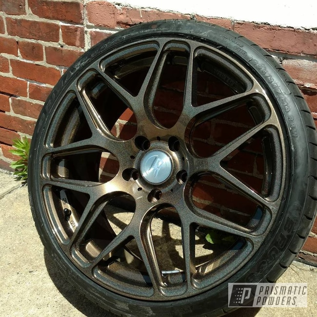 Powder Coating: Wheels,Automotive,Custom Wheels,Clear Lights PPB-4864,Bronze Chrome PMB-4124