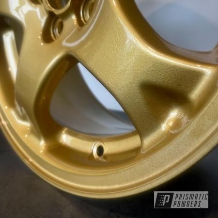 Powder Coating: Wheels,Subaru Gold,Clear Vision PPS-2974,Rims,Gold Wheels,Subaru,Spanish Gold EMS-0940,Scooby Doo,Gold Rims