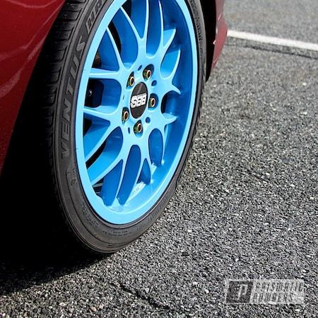 Powder Coating: Wheels,Automotive,RAL 5015 Sky Blue