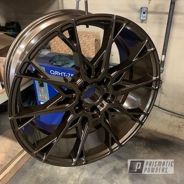 Powder Coated Wheel In Pmb-10182 And Pps-2974