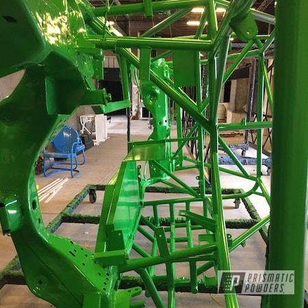 Powder Coating: Stock Car Frame,Racer Green PSS-4531