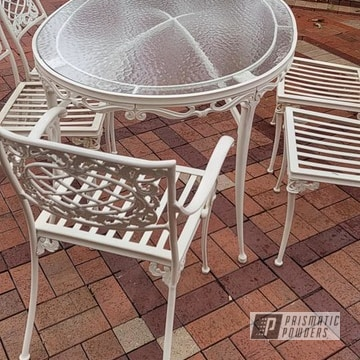 Powder Coated Patio Set In Psb-4766