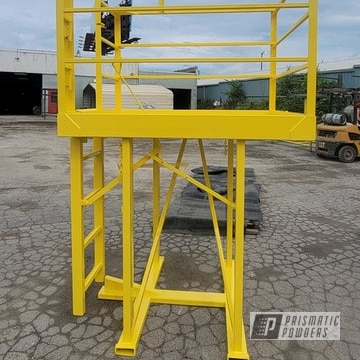 Powder Coated Work Platform In Ral 1018