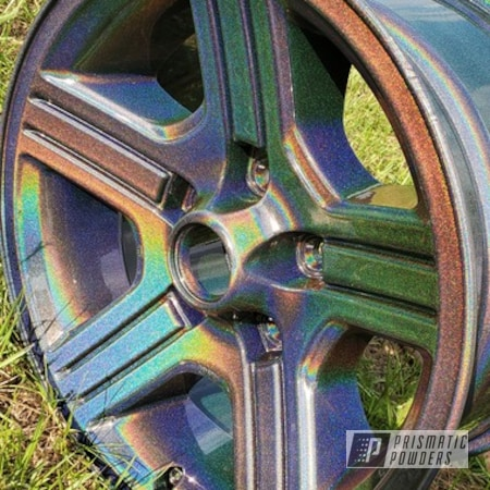 "Powder Coating: Wheels,Rainbows,Rims,16"" Wheels,Prismatic Universe PMB-10367"