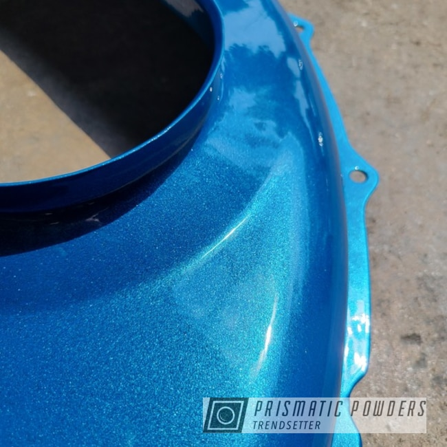 Powder Coated Vw Engine Part In Pps-2974 And Pmb-6911