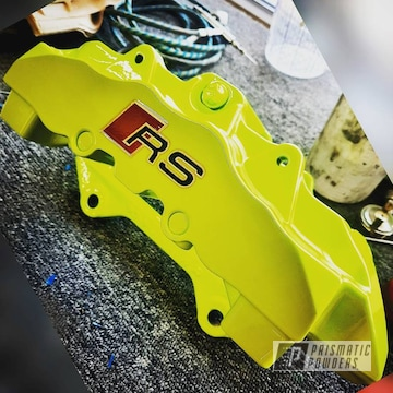 Powder Coated Brake Calipers In Pps-2974 And Pss-7068
