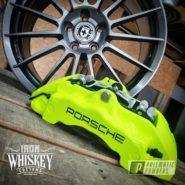 Powder Coated Brake Calipers In Pps-2974 And Pss-1104