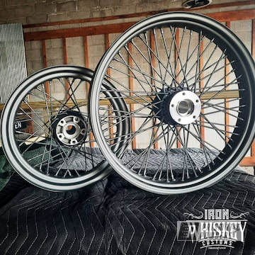 Powder Coated Wheels In Pmb-5531 And Pps-4005