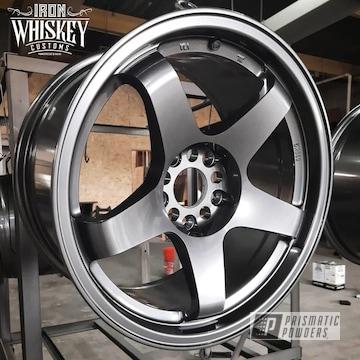 Powder Coated Wheels In Uss-5204