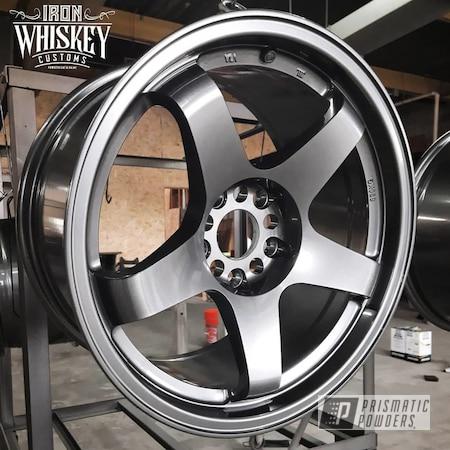 "Powder Coating: Wheels,19"" Wheels,Rims,ULTRA BLACK CHROME USS-5204"