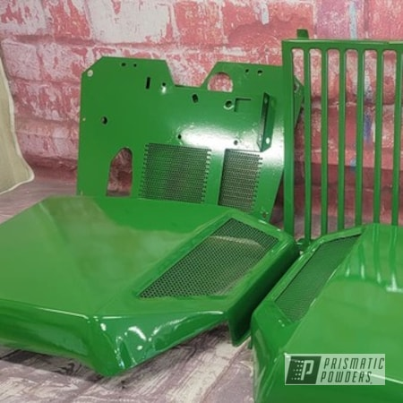 Powder Coating: Tractor Green PSS-4517,Lawn Mower,John Deere Tractor,Garden Tractor,John Deere