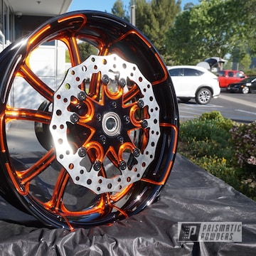 Powder Coated Motorcycle Wheel In Uss-2603 And Pss-4045