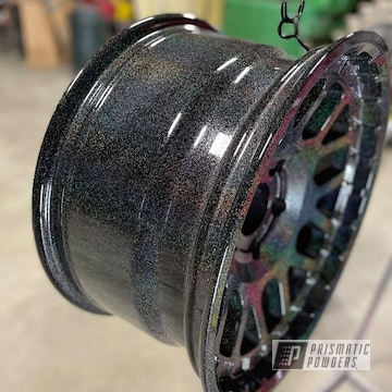 Powder Coated Jeep Wheels In Pmb-2691