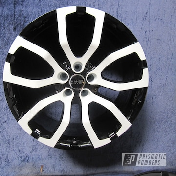 Powder Coated Two Tone Wheels In Uss-2603 And Pss-5690
