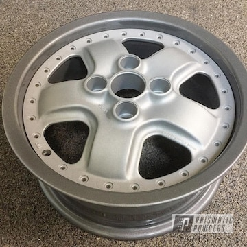 Two Piece Honda Wheels Featuring Heavy Silver, Galaxy Grey Iii And Casper Clear Powder
