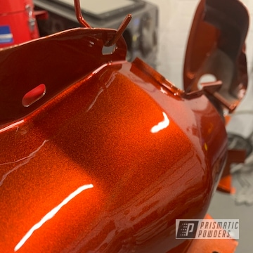 Powder Coated Volkswagen Volkswagen Buggy Parts In Illusion Copper And Clear Vision