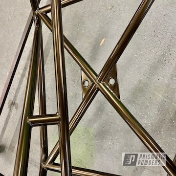 Roll Cage Powder Coated In Lazer Bronze