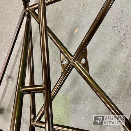 Powder Coating: Automotive,Roll Cage,Lazer Bronze PMB-4152